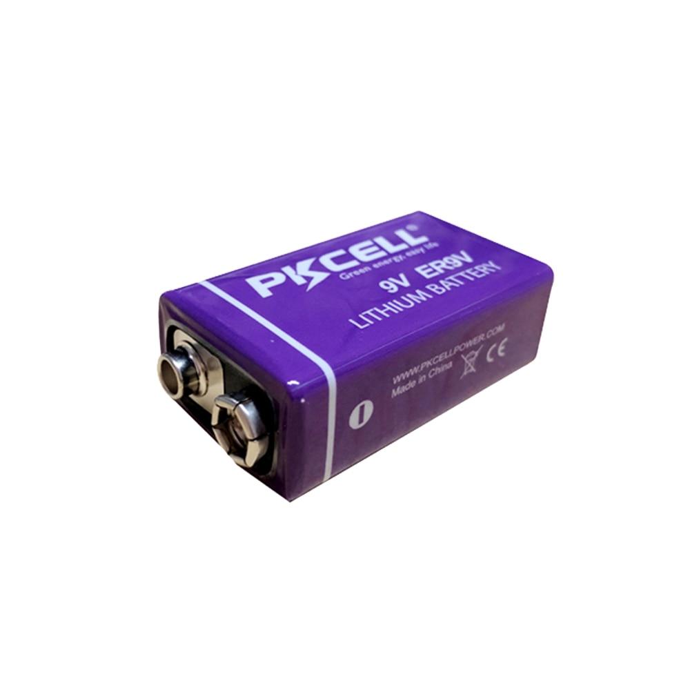 Image 3 - 4pcs ER9V 6F22/6LR61 thermometer PP3 1200mah 10.8V Lithium  thionyl chloride(Li SOCl2) battery ER 9V Batteries for smoke alarm9v  batterybattery 6f22battery 9v