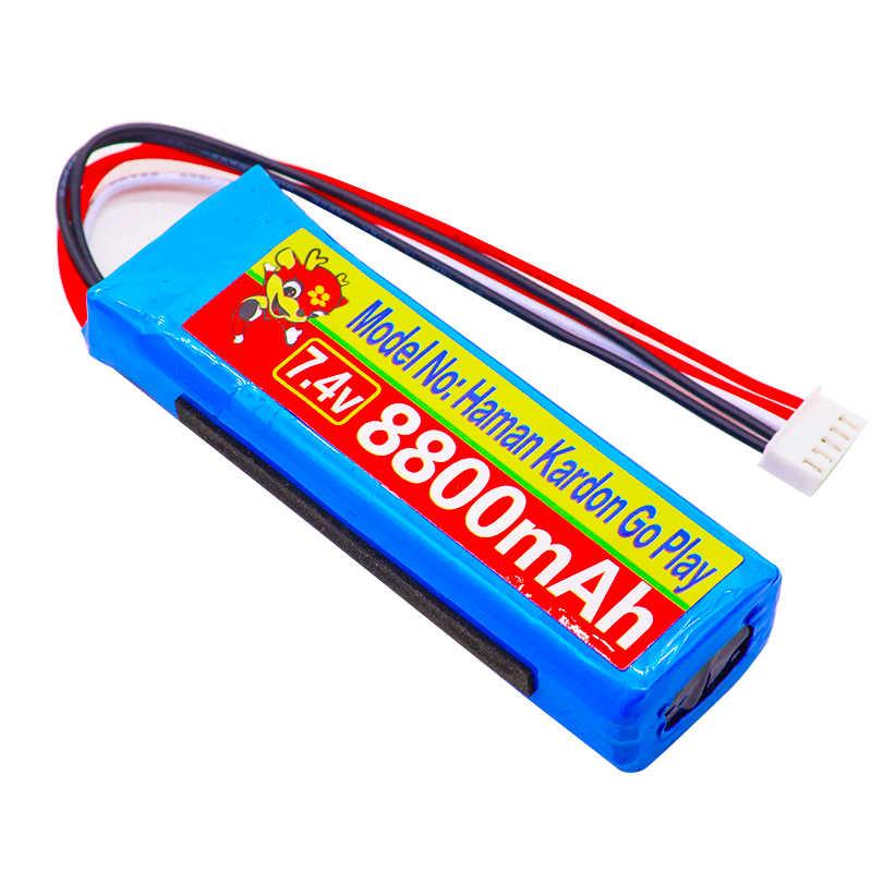 8800mAh Batterie 7,4 V für Harman Kardon Gehen Spielen Mini Lautsprecher Li-Polymer Lithium-Polymer Wiederaufladbare Akkumulator Ersatz