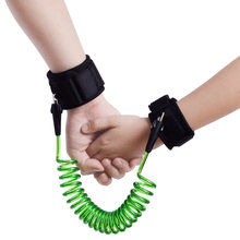 CHILDREN'S Safety Rope Wire Rope with Anti Lost with Foot 2 M Rotatable Bracelet Walking Baby Useful Product(China)