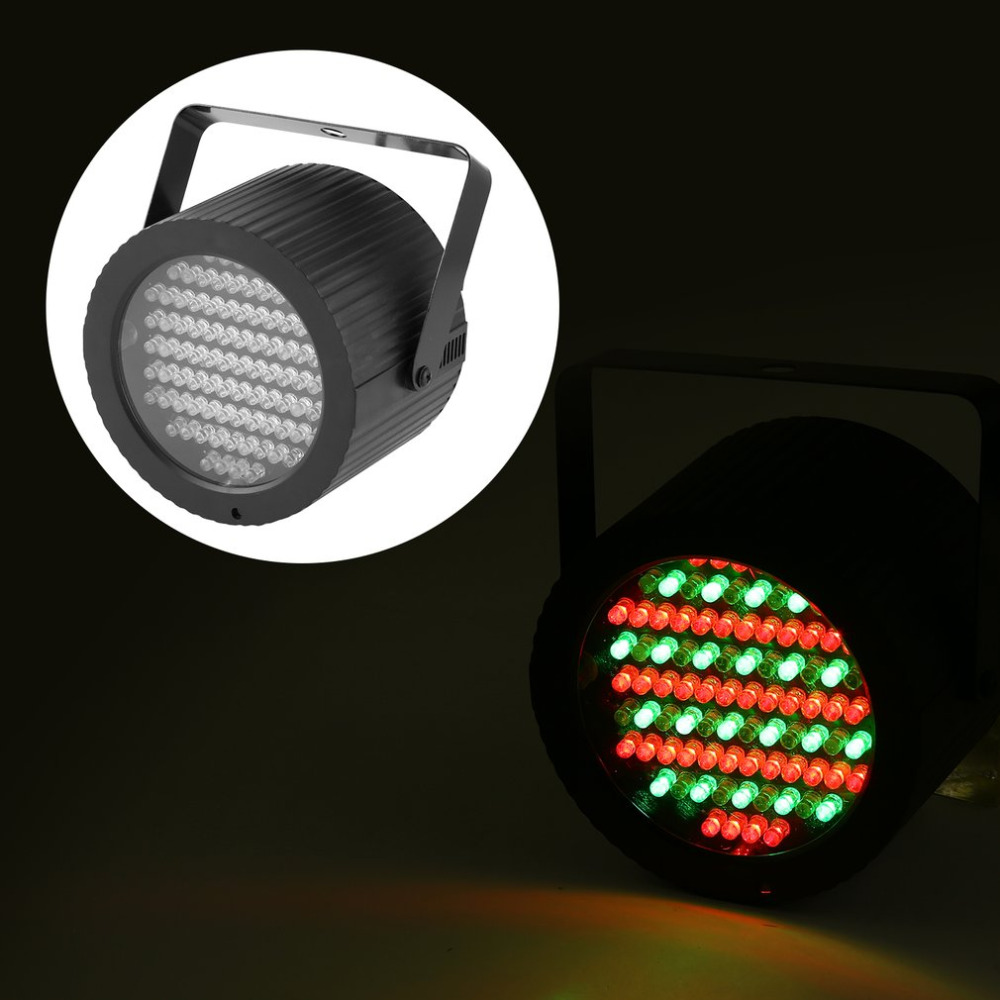 Stage Par Light 86 LEDs DMX512 RGB Strobe Light Party Light for Disco Bar Show Pub KTV Party DJ Lights Stage Lighting Effect     - title=