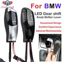 Автомобильный ручной рычаг переключения передач светодиодный рычаг переключения передач LHD автоматическая ручка переключения передач для BMW E46 E39 E53 E60 E61 E87 E90 E92 E93