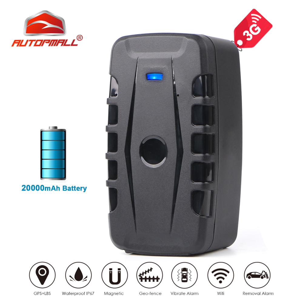 <font><b>LK209C</b></font> 3G GPS Tracker Car 20000mAh 240 Days Long Standby RealTime Tracker Car GPS Locator Waterproof Shock Alarm Free Web App image