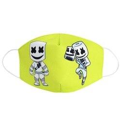 2020 Maska pyłoszczelna Maska ochronna na twarz dla dorosłych Kid Cartoon Cover kobiety mężczyźni mufy maski na usta 2