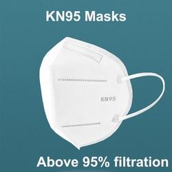 DHL Shipping 200/100/50/20pcs/Lot KN95 Face Mask N95 KN94 Nonwoven Dust Mask PM 2.5 Anti Virus Dust Mouth Facia Face Mouse Masks 2