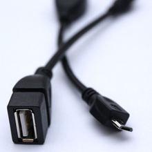 Микро usb адаптер кабель микро линия к конвертер otg для электронного