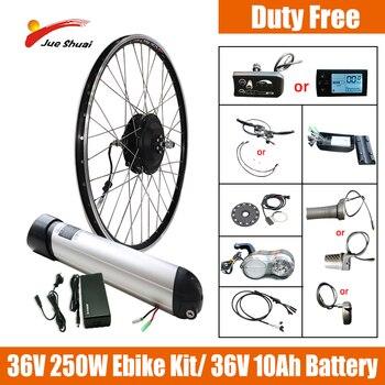 Kit de conversión de Bicicleta eléctrica, batería de botella de agua de...