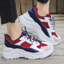 2020 Platform Sneakers Fashion Women Vulcanize Shoes Chunky