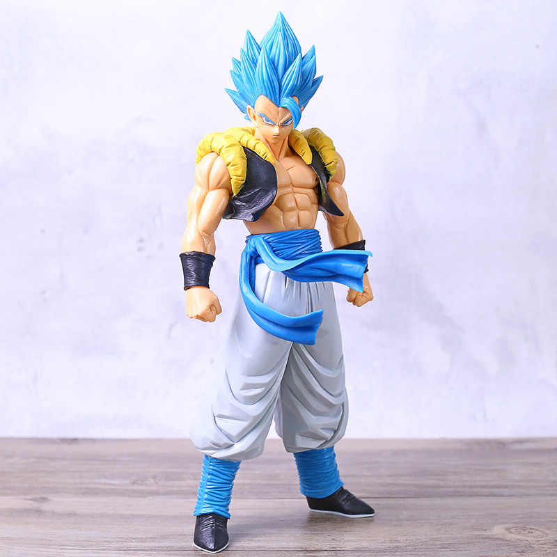 Dragon Ball Super Blauw Gogeta Grandista Ros Pvc Action Figures Anime Dragon Ball Z Goku Vegeta Gogeta Beeldje Model Speelgoed dbz