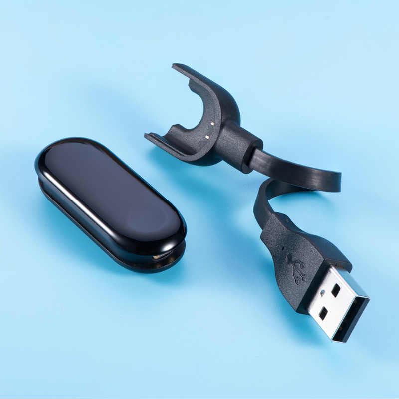 Şarj kablosu için xiaomi mi mi Band 3 şarj aleti kablosu veri Cradle Dock mi Band 3 yedek USB şarj hattı akıllı aksesuarları