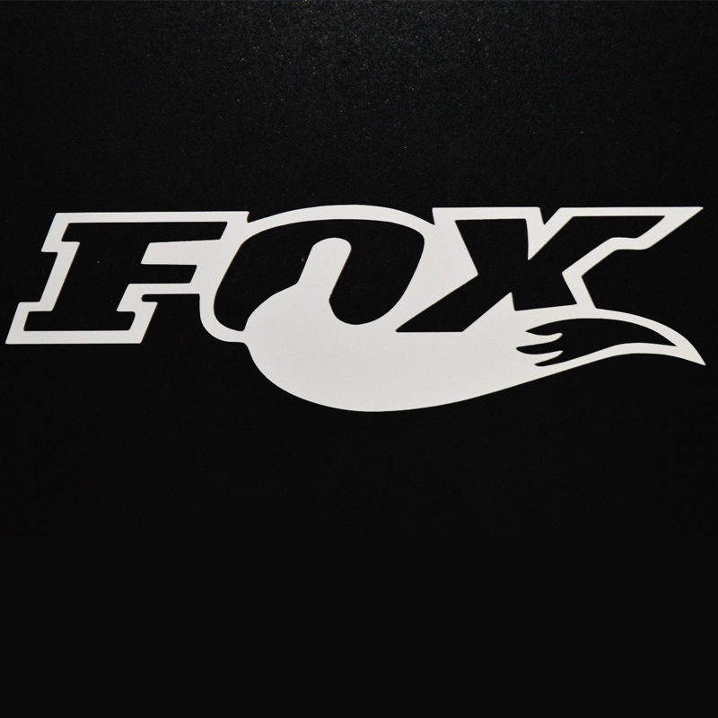 FOR Fox Racing Motocross Car Window Sticker Vinyl Decal Dirt Bike Ktm 18cm Car Styling Car Accessories