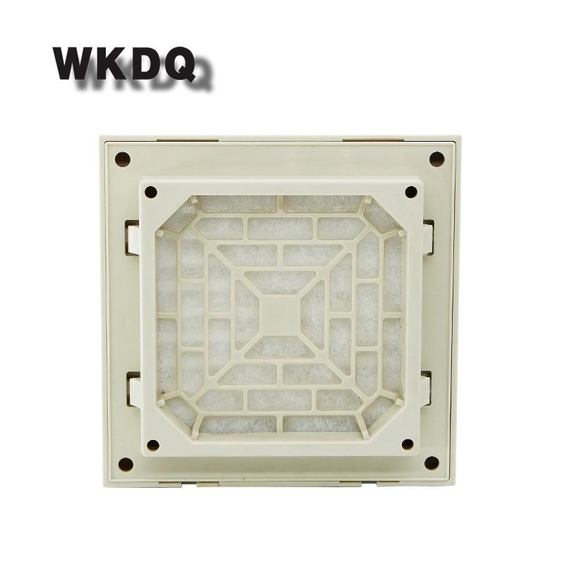 FK-3322-300 Cabinet  Ventilation Filter Set Shutters Cover Fan Grilles Louvers Blower Exhaust Fan Filter Filter Cool Without Fan