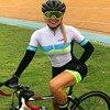 Kafitt camisa de ciclismo das mulheres macacão pouco macaco ciclismo ciclismo ciclismo manga curta camisa terno esportes uniforme 13