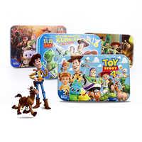 Disney Spielzeug Geschichte Racing mobilisierung Disney 60 Stück Von Kleinen Münzen Puzzle Kinder Holz Puzzle Kinder Bildung Spielzeug Baby
