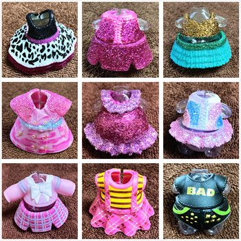1 Piece Original Dress Clothes Suits for LOL 8cm Big Sister Dolls Dresses Kid Toy Birthday Gift Can Choose L.O.L. SURPRISE! 1