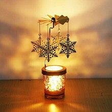 Подсвечник металлический олень вечерние романтические ветряные мельницы подсвечники Висячие подсвечники вращающийся Свадебный домашний Декор Рождественский подарок