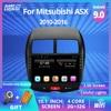 2DIN Android 9.0 araba GPS multimedya radyo Navi Player CITROEN C4 2010 2011-2015 2016 Autoradio Mitsubishi ASX peugeot 4008
