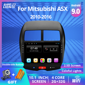 2DIN Android 9.0 Car GPS Multimedia Radio Navi Player For CITROEN C4 2010 2011-2015 2016 Autoradio Mitsubishi ASX Peugeot 4008 image
