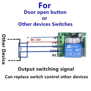 Image 3 - DC 12 v 1CH ミニワイヤレスリモートコントロールスイッチ