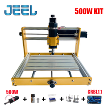 CNC 3018 Update 3018 Plus 500W/300W Spindle Kit Apply Nema17/23 Stepper 52mm Spindle CNC Wood Router,Pcb Milling Machine