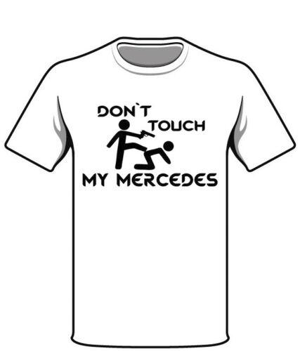 Mercedes Uomo Donna Culto Fan Motto Maglietta Regalo T-Shirt