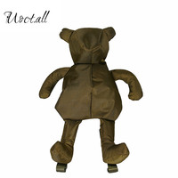 brand Fashion Personality Bear Female Backpack Punk Style School Bags Designer Backpacks for Adolescent Girls Gifts