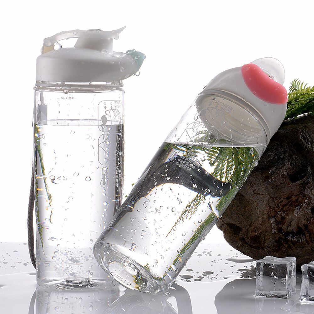 Outdoor Olahraga Air Minum Botol Sehat Portabel Perjalanan Piala 500 Ml Termos Miniso