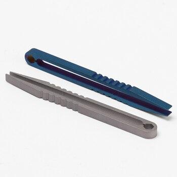 Tweezers TC4 Clip Titanium Tweezer EDC Multipurpose Gadget Pick Up Clamping
