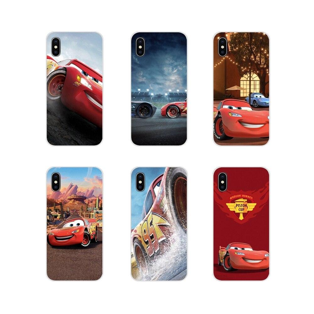 Lightning mcqueen аксессуары телефон оболочки чехлы для планшетов Apple ipod 5 6 iPhone X XR XS 11Pro MAX 4S 5S 5C SE 6S 7 8 Plus