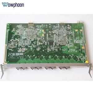 Image 2 - Original ZTE GTGO 8 ports service board with 8pcs B+ C+ C++ SFP Modules for ZTE ZXA10 GPON OLT C300 C320 GTGO business board