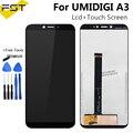 5 5 ''Black Für UMI Umidigi A3 LCD Display und Touch Screen Digitizer Assembly Reparatur Teile + Werkzeuge Für UMI UMIDIGI a3