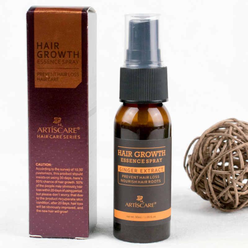 Esencia para el crecimiento del cabello ARTISCARE, tratamiento pulverizador, aceite esencial antipérdida de cabello, prevención de la calvicie, consolidación de raíces, cabello