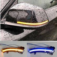 Car LED Dynamic Turn Signal Light Side Mirror Sequential Blinker For BMW 1 2 3 4 Series X1 F20 F21 F22 F30 F31 F34 F32 E84 i3