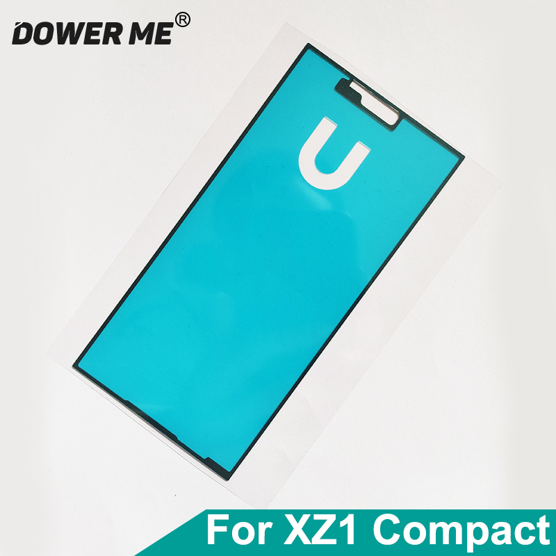 Dower Me LCD Adhesive Front Frame Sticker Glue Tape For SONY Xperia XZ1 Compact XZ1mini XZ1c G8441 4.6inch