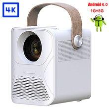 Projetor de vídeo 1080p completo hd projetores de cinema em casa android mini beamr portátil led para smartphone pr45201