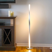 Lámpara LED de pie moderna para sala de estar poste de pie Luz de suelo LED para dormitorios oficinas lámpara de mesa regulable brillante decoración de interiores