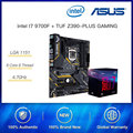 Intel 8 Core i7 9700 i7 9700K i7 9700F 4.9Ghz ASUS TUF Z390-PLUS GAMING DDR4 Gaming Motherboard Cpu Set Support 10500/10400 CPU