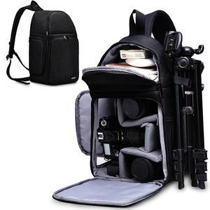 Image 1 - Caden Camera Bag Rugzakken Schouder Sling Bag Waterdichte Nylon Schokbestendig Krasbestendig Dslr Mannen Vrouwen Voor Canon Nikon Sony
