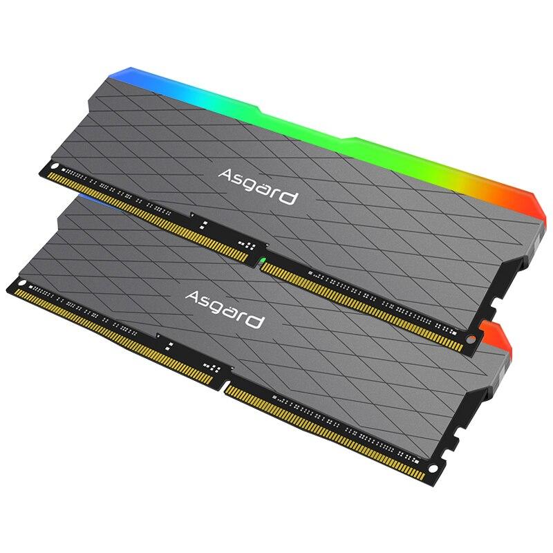 Asgard Loki w2 RGB 8GB * 2 3200MHz DDR4 DIMM 288 broches XMP Memoria Ram ddr4 ordinateur de bureau de mémoire Ram pour jeux d'ordinateur double canal - 5