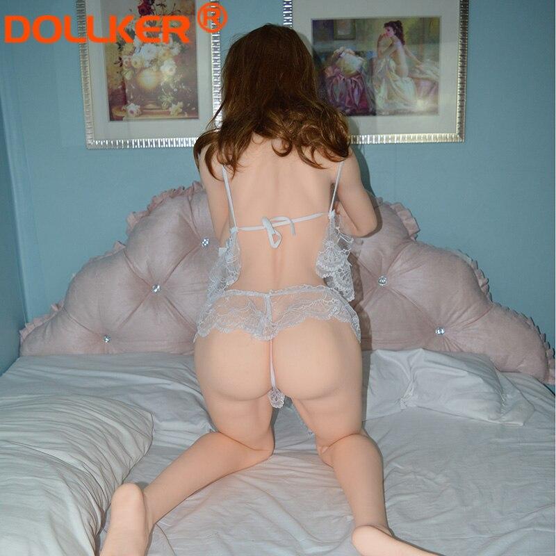 DOLLKER 2019 168cm en direct silicone amour poupée sexe poupée taille réelle adulte grande poitrine poupée de sexe oral anal mini vagin jouet réaliste mâle - 4