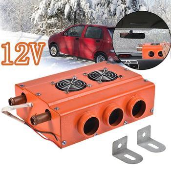 12V 80W Car Electric Heater Winter Heating Warmer Windscreen Seat Window Defroster Demister For RV Motorhome Boats