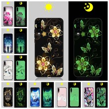 Funda luminosa para Huawei P30/P30 Lite/P30 Pro funda para Huawei P8 Lite/P9/Psmart + 2019 funda brillante para Huawei Enjoy 9 s/Honor 6X(China)