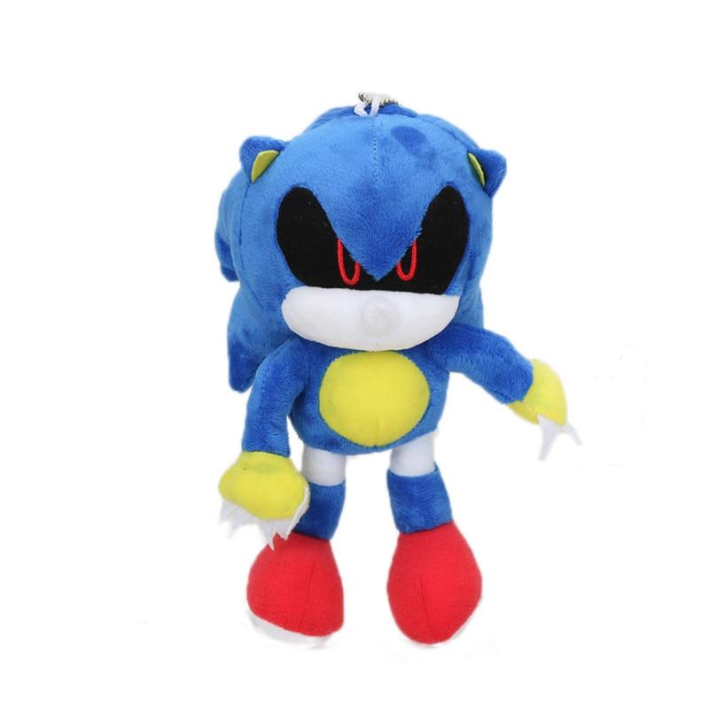 Blue Sonic The Hedgehog 18cm 7 Sonic Plush Keychain Toys Metal Sonic Stuffed Doll Super Sonic Shadow Knuckles Tails Dolls Aliexpress