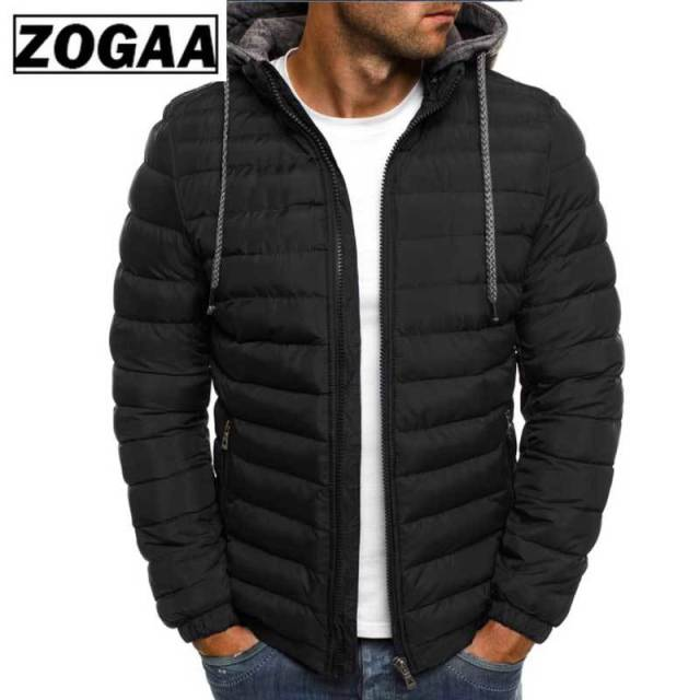 New Brand Hooded Parka Cotton Coat
