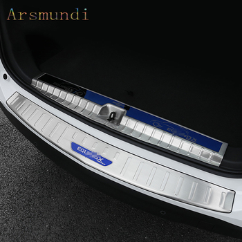 For Chevrolet Equinox 2017-2020 Stainless Steel Car Trunk Sill Pedal Plate Trim Cover Car Styling
