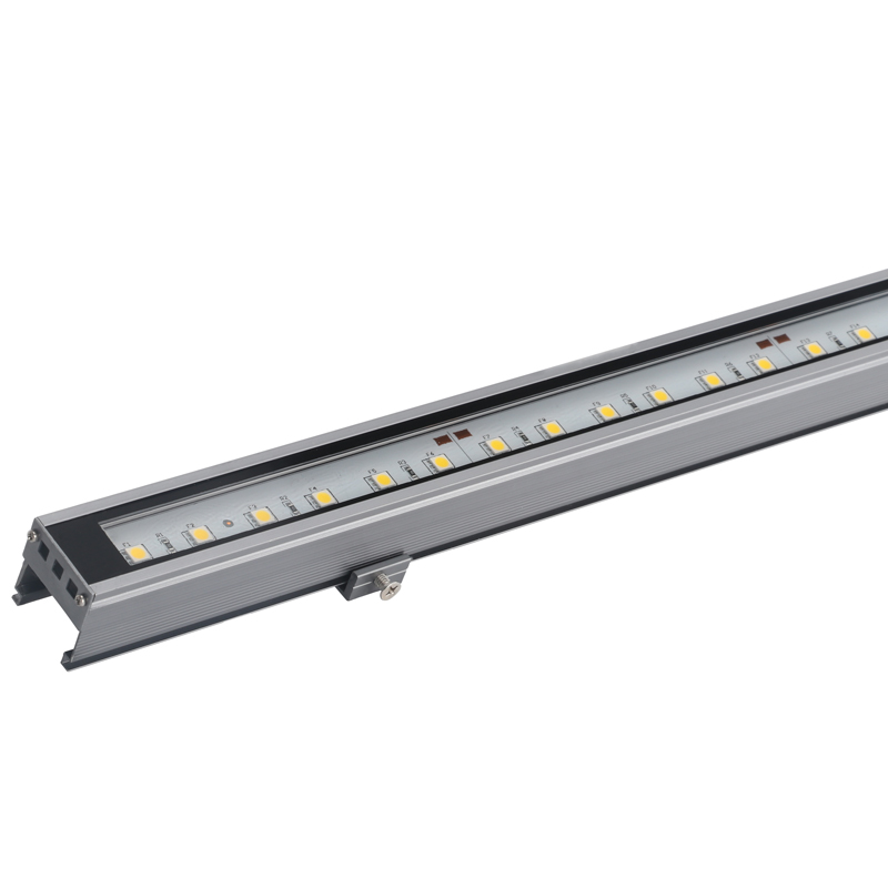 LED Bar Light Line Light Colorful RGB Outdoor Waterproof Light Billboard Neon Inside And Outside Control Strip Light DMX512