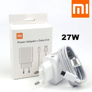 Image 1 - Original Xiaomi 27W Fast Charger QC 4.0 Turbo Charge adapter Usb C Cable for mi 9 SE 9T Pro max 3 A3 redmi note 7 8 k30 note 10