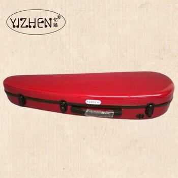 violin case  4/4 Wine red  Glass fiber violin case