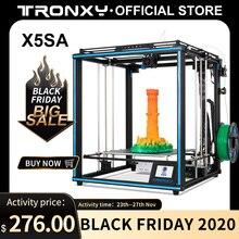 2020 최신 업그레이드 된 Tronxy 3D 프린터 X5SA 400/X5SA 큰 인쇄 크기 3.5 인치 TFT 터치 스크린 PLA ABS 필라멘트