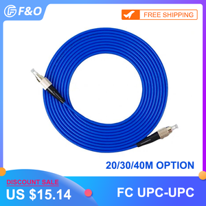 Image 1 - Coperta Blindato FC/UPC FC/UPC,3.0mm, Monomodale 9/125,Simplex, patch Cord In Fibra ottica Cavo