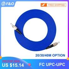 Внутренний бронированный FC/UPC FC/UPC, 3,0 мм, одномодовый 9/125, симплексный, оптоволоконный патч корд, кабель